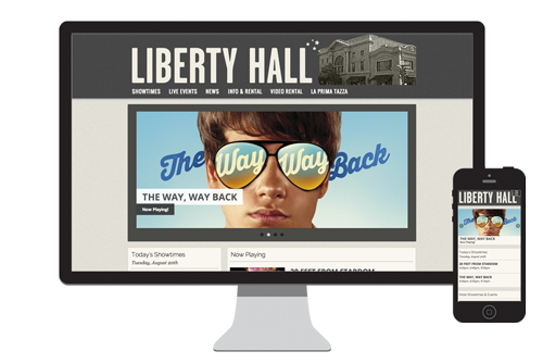 Liberty Hall website