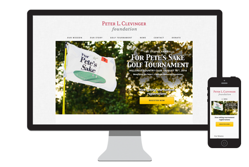 Peter L Clevinger Foundation website